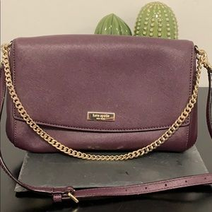 Used Kate Spade Purple Crossbody Bag